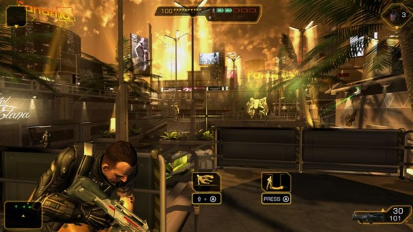 Screenshot 4 - Deus Ex: The Fall