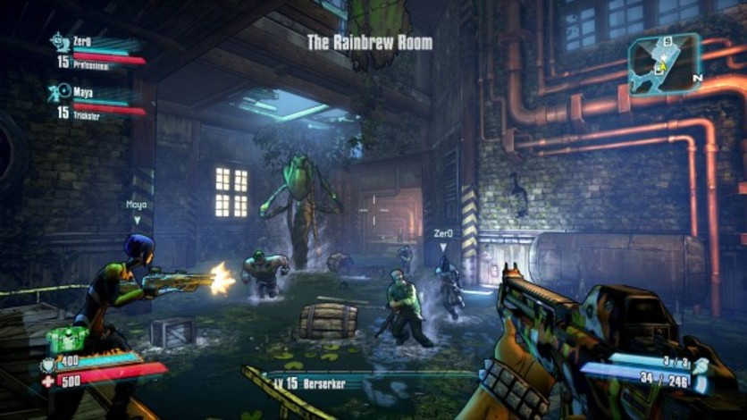 Screenshot 4 - Borderlands 2: Headhunter 4: Wedding Day Massacre