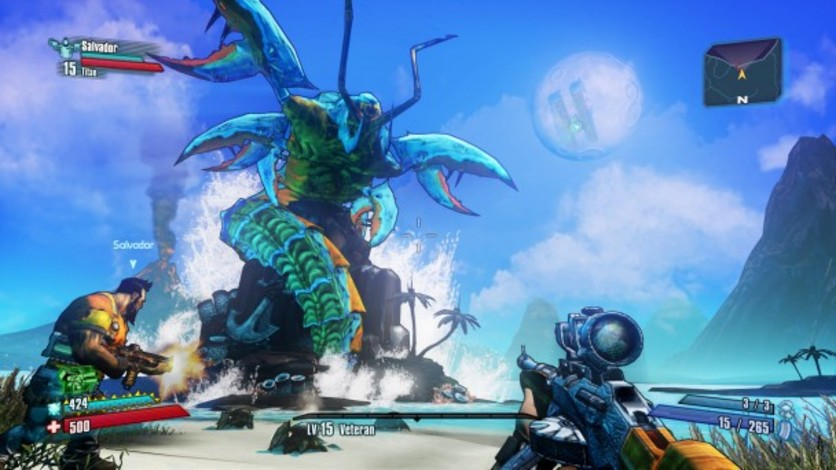 Screenshot 4 - Borderlands 2: Headhunter 5 - Son of Crawmerax