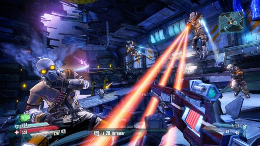 Screenshot 1 - Borderlands: The Pre-Sequel - Shock Drop Slaughter Pit