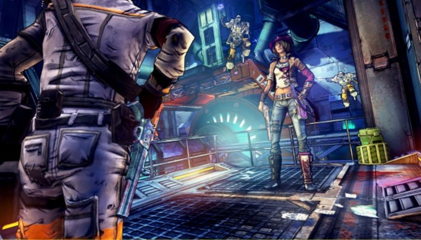 Screenshot 5 - Borderlands: The Pre-Sequel - Shock Drop Slaughter Pit