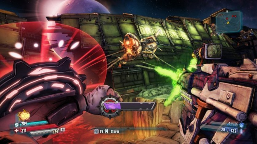 Screenshot 2 - Borderlands: The Pre-Sequel - Shock Drop Slaughter Pit