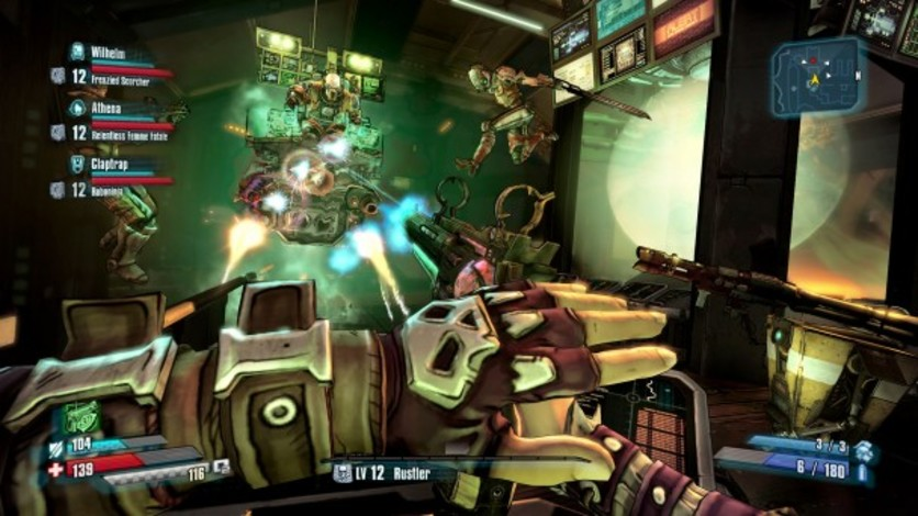 Screenshot 4 - Borderlands: The Pre-Sequel - Shock Drop Slaughter Pit