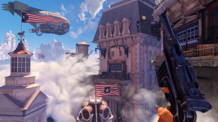 Screenshot 4 - Bioshock Infinite: Clash in the Clouds (MAC)