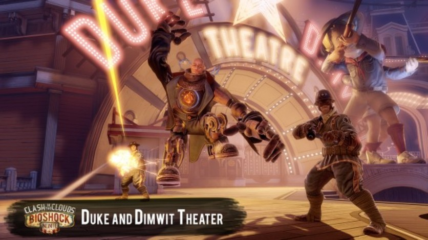 Screenshot 1 - Bioshock Infinite: Clash in the Clouds (MAC)