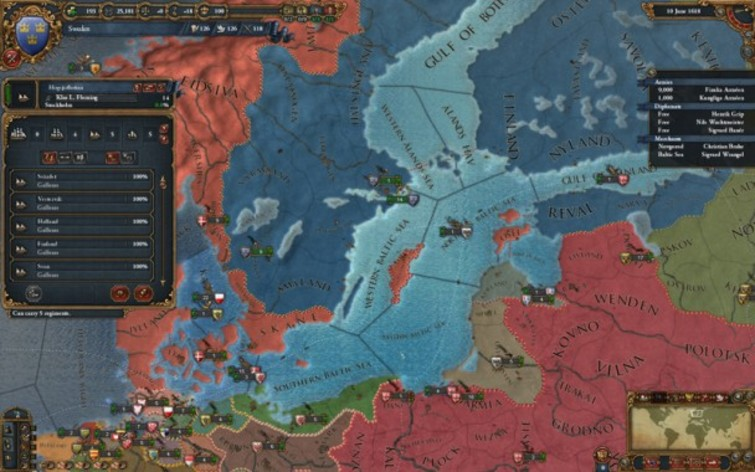 Screenshot 2 - Europa Universalis IV DLC Collection