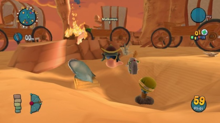 Screenshot 2 - Worms Ultimate Mayhem - Customization Pack