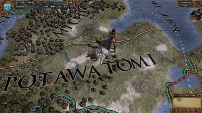 Screenshot 6 - Europa Universalis IV: Native Americans II Unit Pack