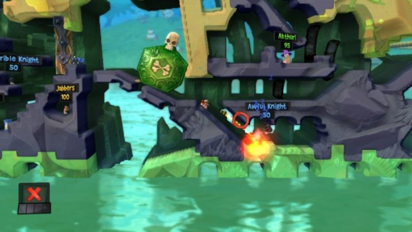 Screenshot 4 - Worms Revolution: Medieval Tales
