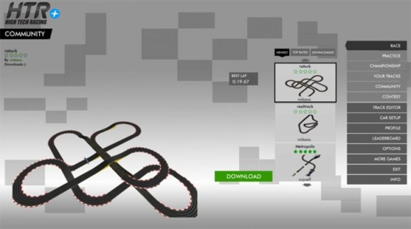 Screenshot 9 - HTR+ Slot Car Simulation