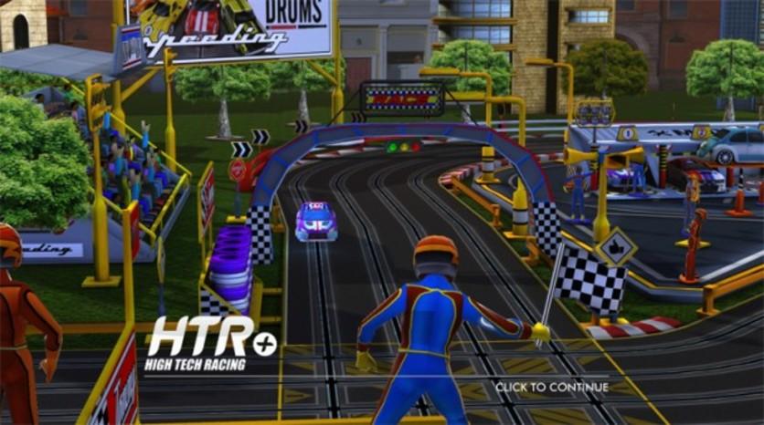 Screenshot 2 - HTR+ Slot Car Simulation