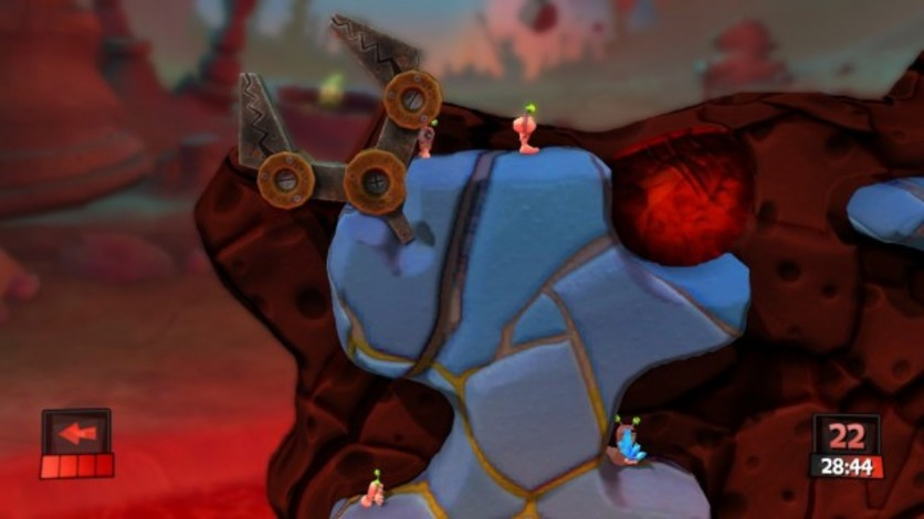 Screenshot 5 - Worms Revolution: Mars Pack