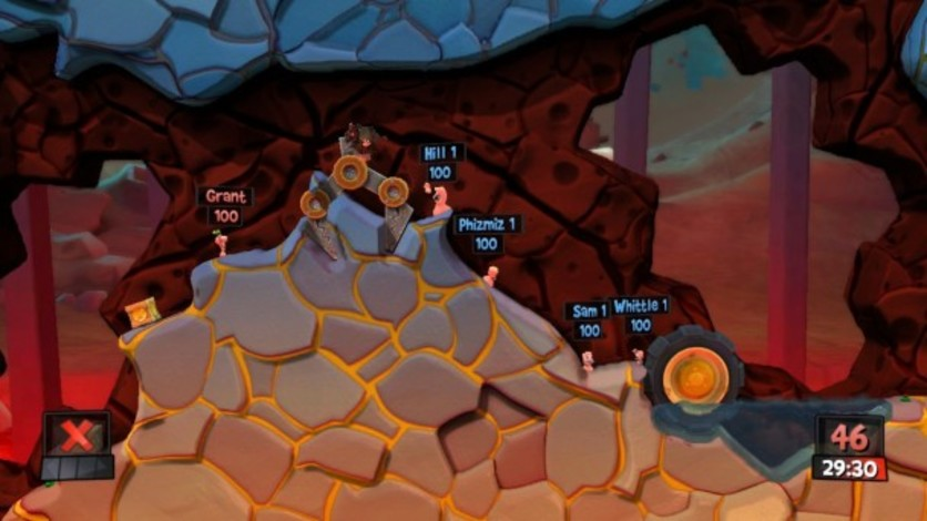 Screenshot 3 - Worms Revolution: Mars Pack