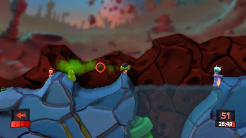 Screenshot 1 - Worms Revolution: Mars Pack