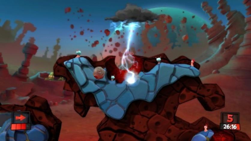 Screenshot 4 - Worms Revolution: Mars Pack