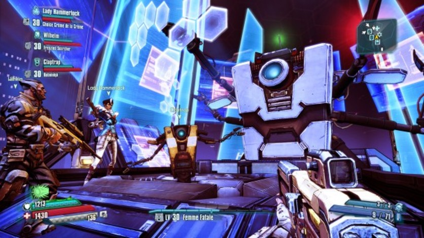 Screenshot 2 - Borderlands: The Pre-Sequel - Claptastic Voyage and Ultimate Vault Hunter Upgrade Pack 2