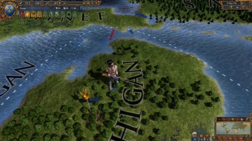 Screenshot 10 - Europa Universalis IV: Colonial British and French Unit Pack