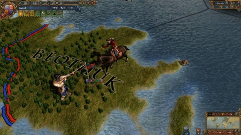 Screenshot 7 - Europa Universalis IV: Colonial British and French Unit Pack