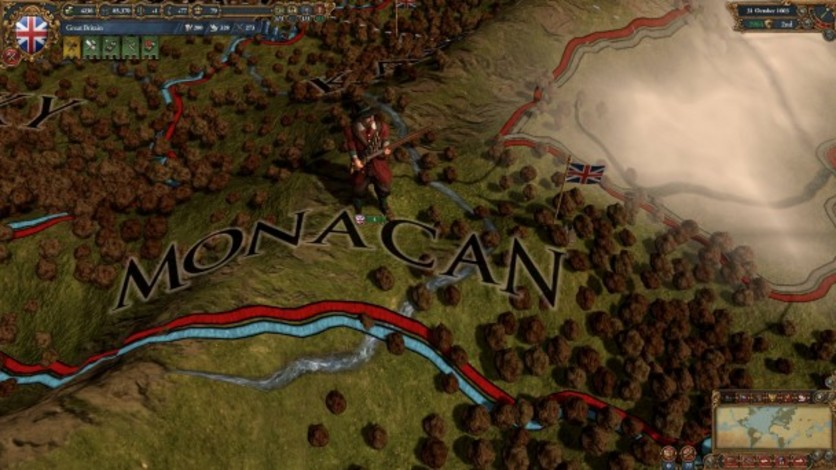 Screenshot 3 - Europa Universalis IV: Colonial British and French Unit Pack