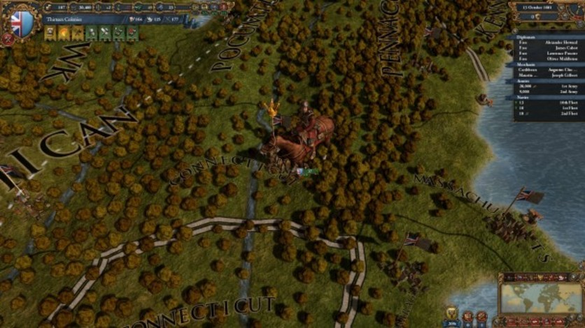 Screenshot 5 - Europa Universalis IV: Colonial British and French Unit Pack