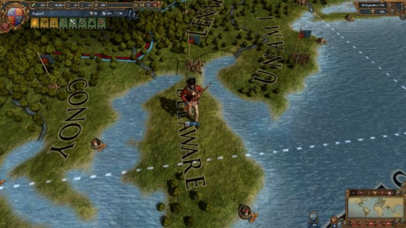 Screenshot 6 - Europa Universalis IV: Colonial British and French Unit Pack