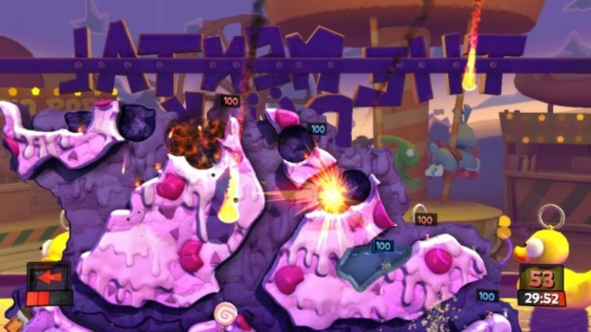 Screenshot 2 - Worms Revolution: Funfair
