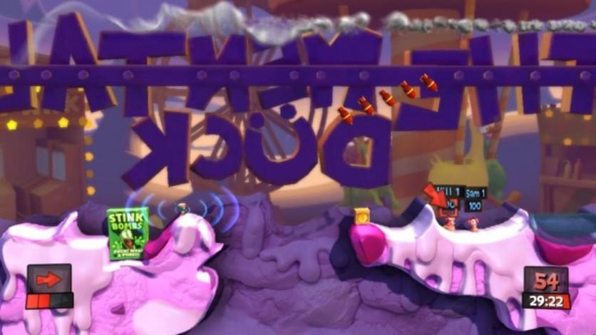 Screenshot 3 - Worms Revolution: Funfair