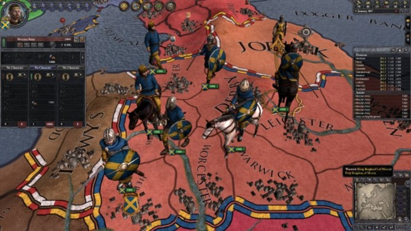 Screenshot 8 - Crusader Kings II: Saxon Unit Pack