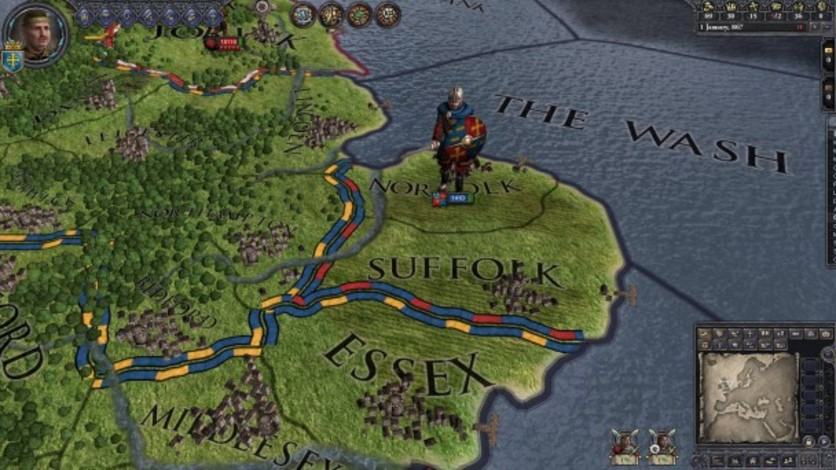 Screenshot 6 - Crusader Kings II: Saxon Unit Pack