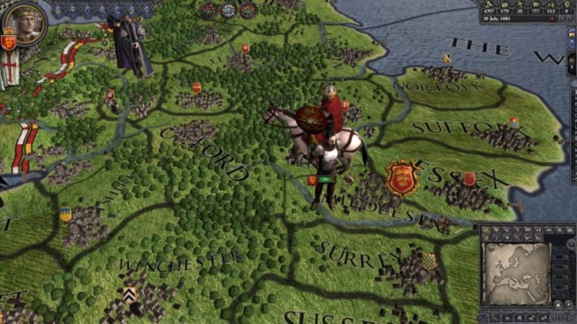 Screenshot 1 - Crusader Kings II: Saxon Unit Pack