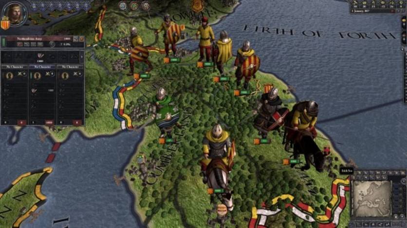 Screenshot 7 - Crusader Kings II: Saxon Unit Pack