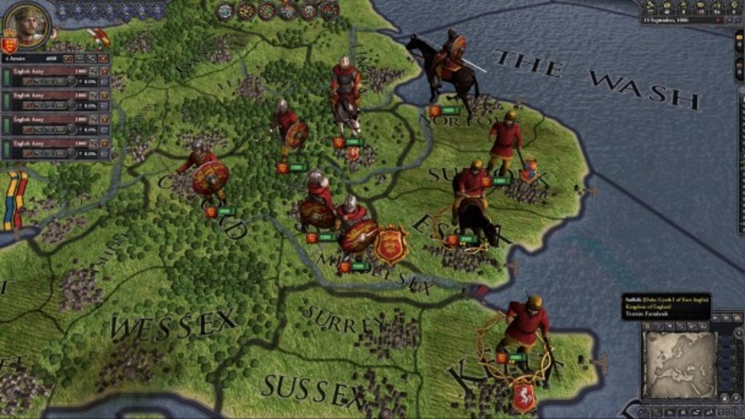 Screenshot 9 - Crusader Kings II: Saxon Unit Pack