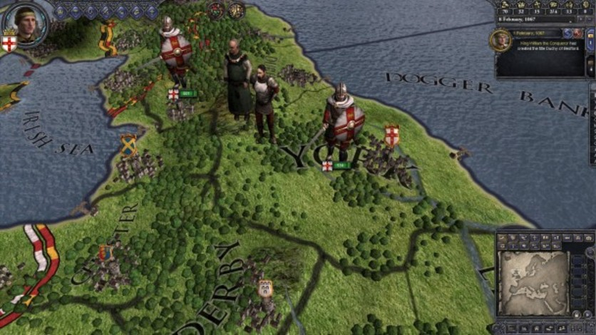 Screenshot 3 - Crusader Kings II: Saxon Unit Pack