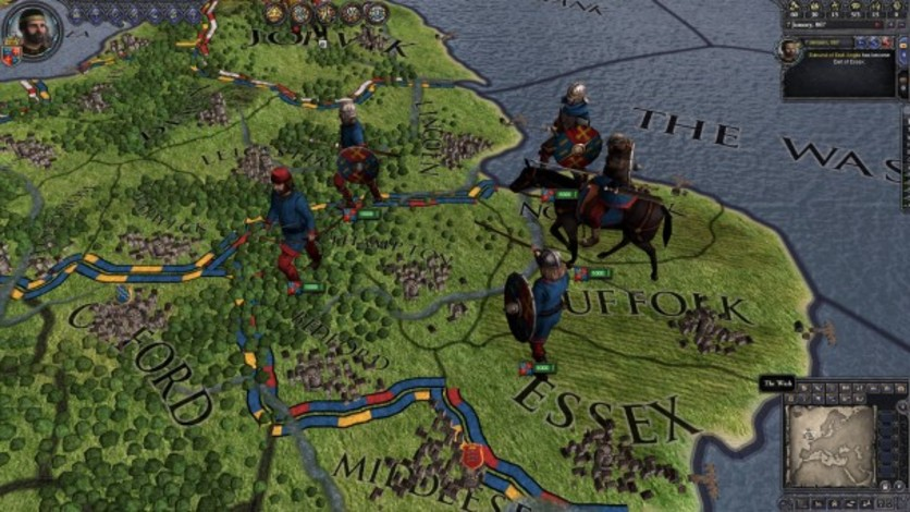 Screenshot 10 - Crusader Kings II: Saxon Unit Pack