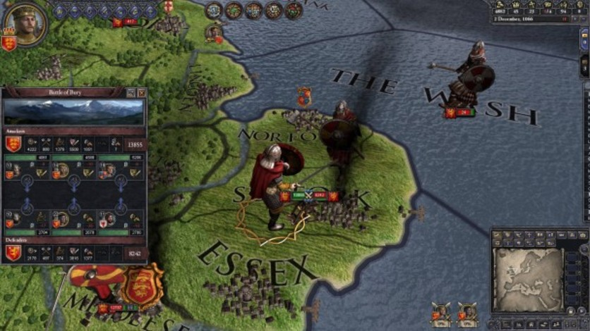 Screenshot 4 - Crusader Kings II: Saxon Unit Pack