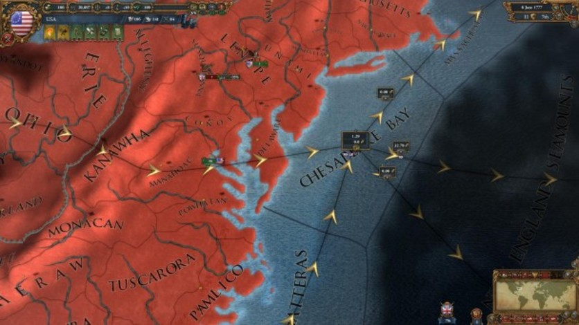 Screenshot 1 - Europa Universalis IV: American Dream