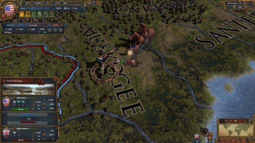 Screenshot 2 - Europa Universalis IV: American Dream
