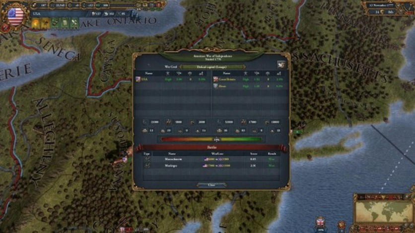 Screenshot 3 - Europa Universalis IV: American Dream