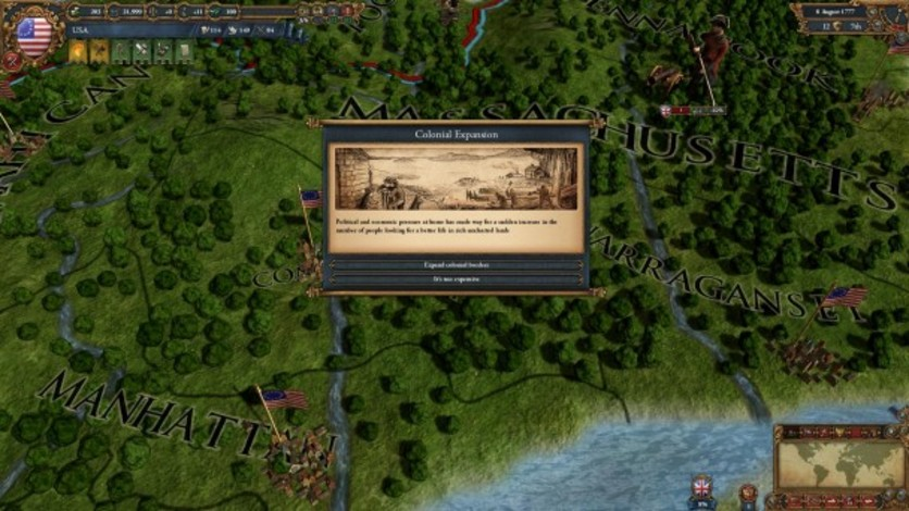 Screenshot 5 - Europa Universalis IV: American Dream