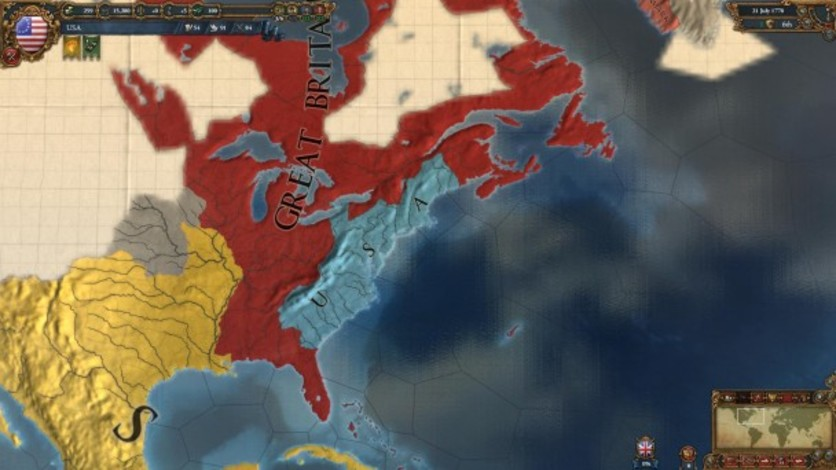 Screenshot 4 - Europa Universalis IV: American Dream
