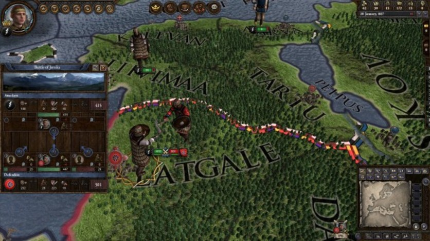 Screenshot 6 - Crusader Kings II: Finno-Ugric Unit Pack