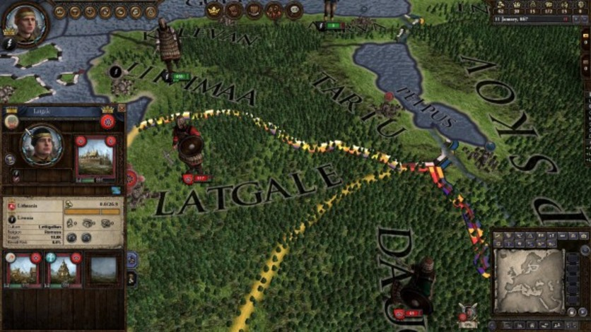 Screenshot 7 - Crusader Kings II: Finno-Ugric Unit Pack