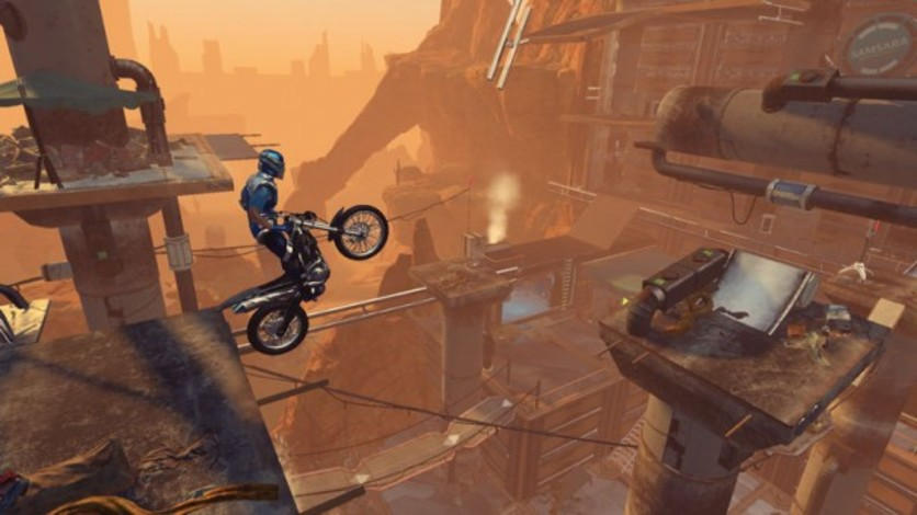 Screenshot 4 - Trials Fusion: Riders of the Rustlands