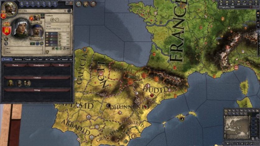 Screenshot 6 - Crusader Kings II: Iberian Portraits