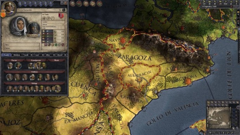 Screenshot 10 - Crusader Kings II: Iberian Portraits