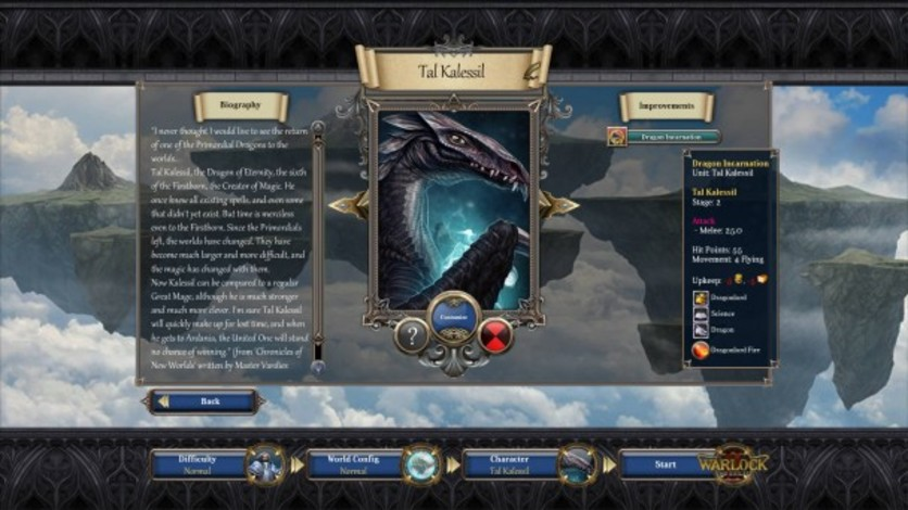Screenshot 1 - Warlock 2: Three Mighty Mages