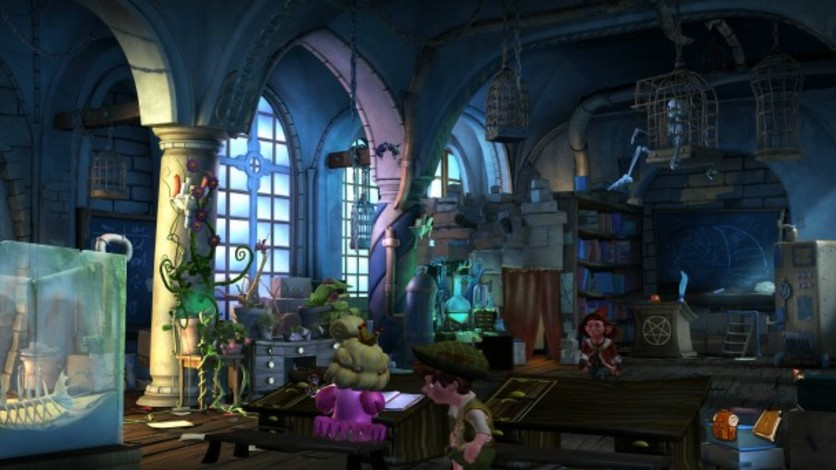 Screenshot 10 - The Book of Unwritten Tales 2