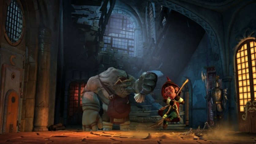 Screenshot 4 - The Book of Unwritten Tales 2