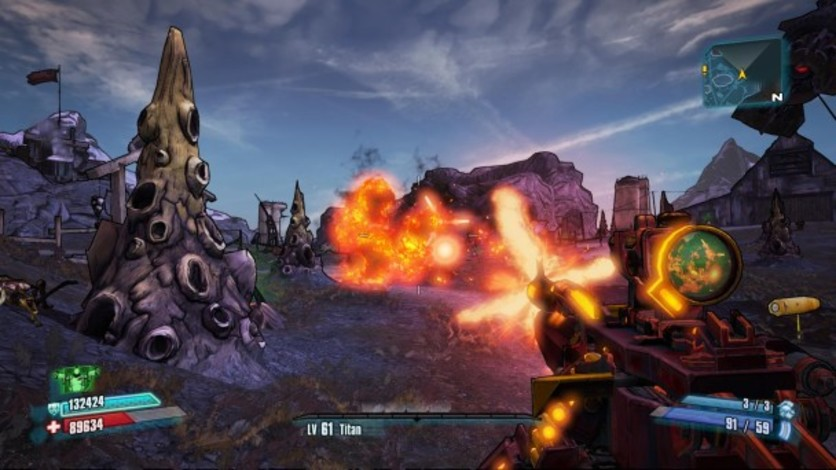 Screenshot 1 - Borderlands 2: Ultimate Vault Hunters Upgrade Pack