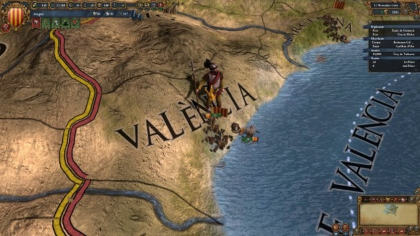 Screenshot 2 - Europa Universalis IV: Trade Nations Unit Pack
